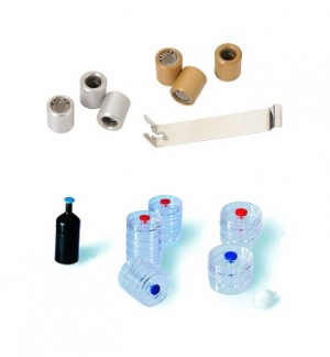 1/4 in. Brass Swagelok(R) and PTFE Ferrule End-Fitting Assembly, Precleaned