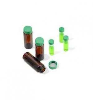 2in1 KIT, Short thread vial with short thread polypropylene screw cap with liner